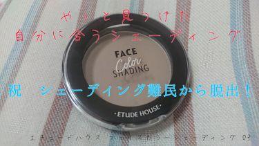 フェイスカラーシェーディング/ETUDE HOUSE/パウダーチークを使ったクチコミ(1枚目)