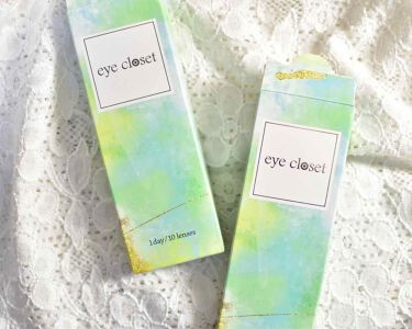"""eye closet 1day SweetSeries """"Half""""(アイクローゼットワンデー スウィートシリーズ ハーフ)/EYE CLOSET/カラーコンタクトレンズを使ったクチコミ(2枚目)"""