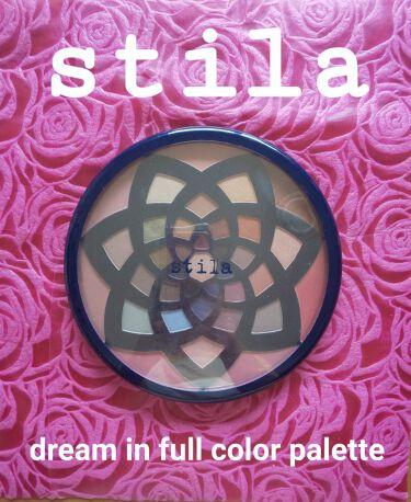 dream in full color palette/stila/パウダーアイシャドウを使ったクチコミ(2枚目)