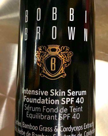 インテンシブ スキン セラム ファンデーション SPF40(PA++++)/BOBBI  BROWN/リキッドファンデーションを使ったクチコミ(1枚目)