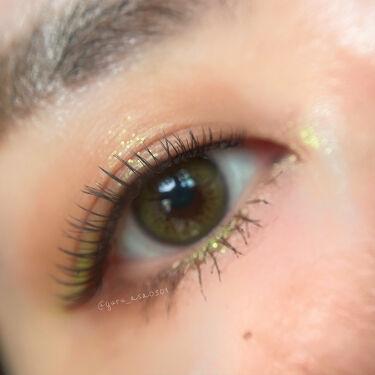 【画像付きクチコミ】#メイクメモヴィセアヴァンのキウイを使ったキウイメイク🥝笑この黄緑めっちゃ可愛いくてかなり気に入ってるよ❤︎〈アイシャドウ〉@maccosmeticsjapan▪️M・A・Cスモールアイシャドウテクスチャー▪️M・A・Cダズルシャドウ...