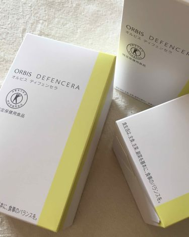 オルビス ディフェンセラ/ORBIS/美肌サプリメントを使ったクチコミ(1枚目)