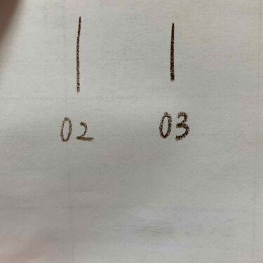 細芯 アイブロウ/CEZANNE/アイブロウペンシルを使ったクチコミ(2枚目)