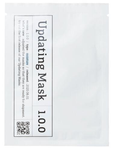 Updating Mask 1.0.0 Type M(保湿)/moisture 1セット5枚入り meol