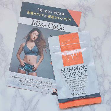 Miss.CoCo/その他/ボディシェイプサプリメントを使ったクチコミ(1枚目)