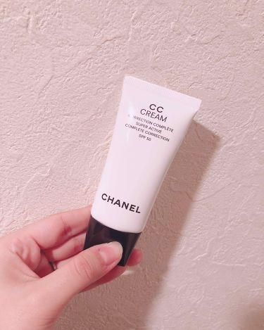 CC クリーム N/CHANEL/化粧下地を使ったクチコミ(1枚目)