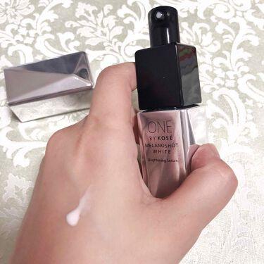 メラノショット ホワイト/ONE BY KOSE/美容液を使ったクチコミ(2枚目)