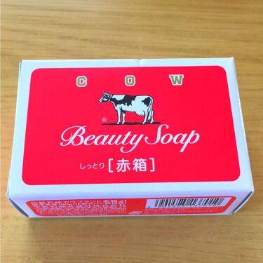 もりもささんの「牛乳石鹸カウブランド (赤箱/青箱)<洗顔石鹸>」を含むクチコミ