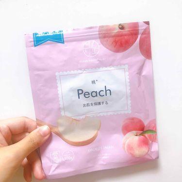 マスクソムリエ peach/ジャパンギャルズ/シートマスク・パックを使ったクチコミ(1枚目)