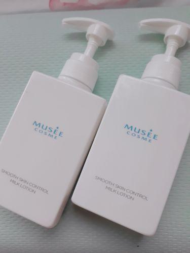 薬用スムーススキンコントロール ミルクローション/ミュゼコスメ/ボディローション・ミルクを使ったクチコミ(1枚目)