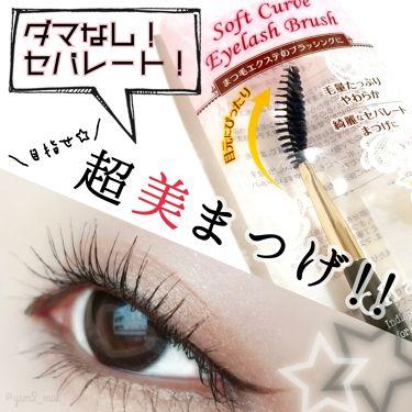 ソフトカーブアイラッシュブラシ/チャスティ/メイクブラシ by 吉見さん