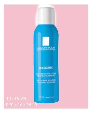 セロザンク/LA ROCHE-POSAY/ミスト状化粧水を使ったクチコミ(1枚目)