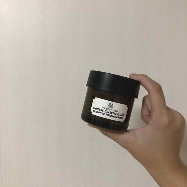 チャイニーズ クラリファイングポリッシングマスク/THE BODY SHOP/洗い流すパック・マスクを使ったクチコミ(2枚目)