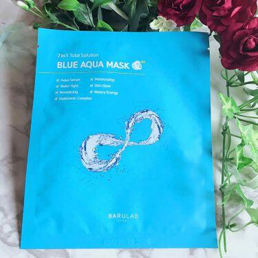 BLUE AQUA MASK/BARULAB/シートマスク・パックを使ったクチコミ(1枚目)