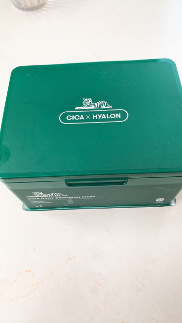 CICA デイリー スージング マスク/VT Cosmetics/シートマスク・パックを使ったクチコミ(3枚目)