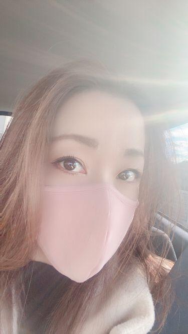 【画像付きクチコミ】初めての色付きマスク✨せっかくならコロナを利用してマスクでオシャレを楽しもうと思って買ってみました🤗セールで2枚¥590になってたし、洗濯して繰り返し使えるのでこれは使えます❤️カラバリも豊富なのでオススメ👍#洗えるマスク#GU