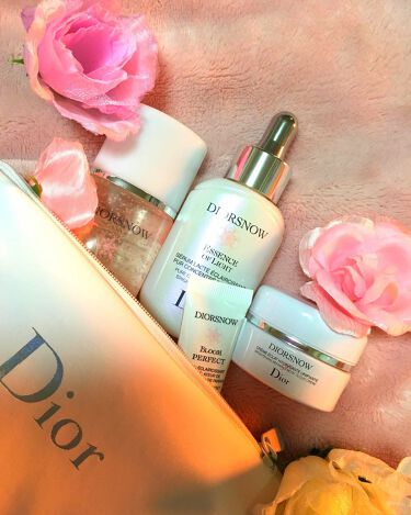 スノー ブライトニング エッセンスローション/Dior/化粧水を使ったクチコミ(3枚目)