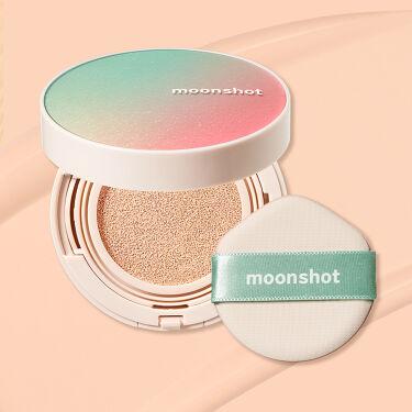 2021/5/14発売 moonshot マイクロカーミングフィット クッションファンデ SPF50+ PA+++