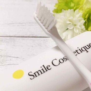 ホワイトニングペースト/スマイルコスメティック/歯磨き粉を使ったクチコミ(4枚目)