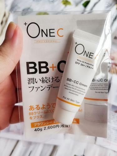 BB+CCクリーム/+OneC(プラワンシー)/化粧下地を使ったクチコミ(1枚目)