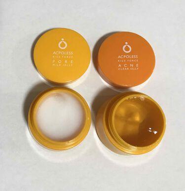 アクポレス ポアミルクジェリー/ライスフォース/美容液を使ったクチコミ(3枚目)