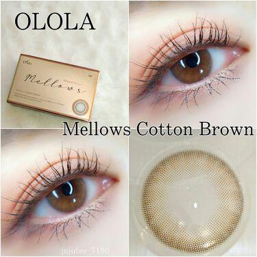 メローズ(Mellows)/OLOLA/カラーコンタクトレンズを使ったクチコミ(1枚目)