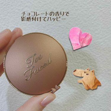 ミルクチョコレート ソレイユ ロングウェア マット ブロンザー/Too Faced/プレストパウダーを使ったクチコミ(1枚目)