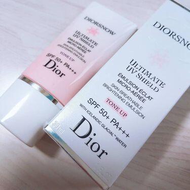 スノー UVシールド トーンアップ 50+/Dior/日焼け止め(顔用)を使ったクチコミ(4枚目)