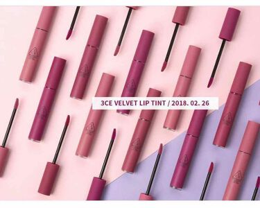 VELVET LIP TINT/3CE/口紅を使ったクチコミ(1枚目)