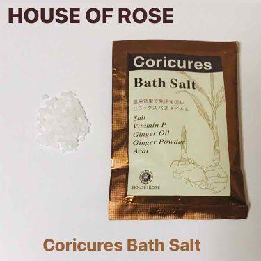 コリキュアーズ バスソルト/HOUSE OF ROSE/入浴剤を使ったクチコミ(1枚目)