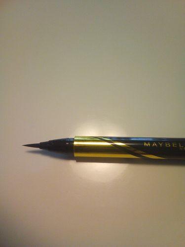 ハイパーシャープ ライナー R/MAYBELLINE NEW YORK/リキッドアイライナーを使ったクチコミ(3枚目)