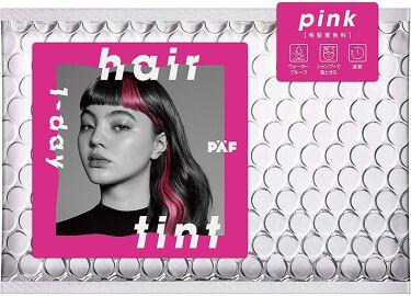 1-day hair tint ピンク