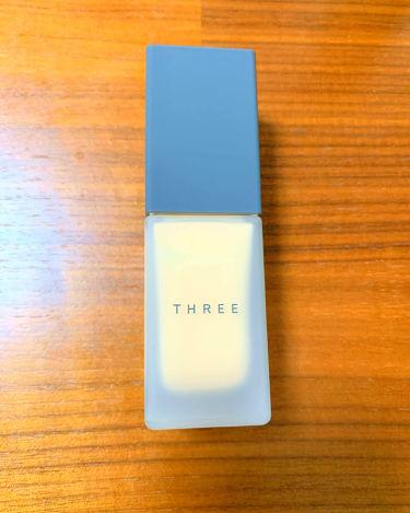 アルティメイトプロテクティブプリスティーン プライマー/THREE/化粧下地を使ったクチコミ(1枚目)