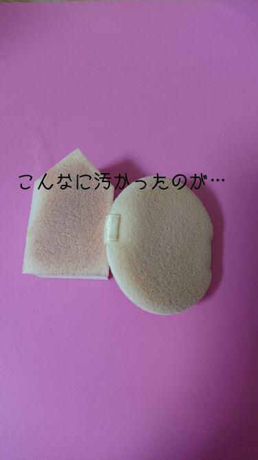パフ・スポンジ専用洗剤/ザ・ダイソー/その他化粧小物を使ったクチコミ(2枚目)