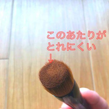 ファンデーションブラシ 131/SHISEIDO/メイクブラシを使ったクチコミ(2枚目)