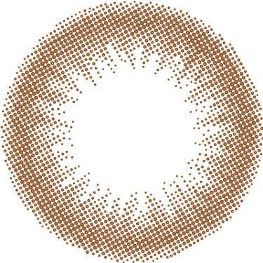 ReVIA 1day [CIRCLE] ANBER BROWN(アンバーブラウン)