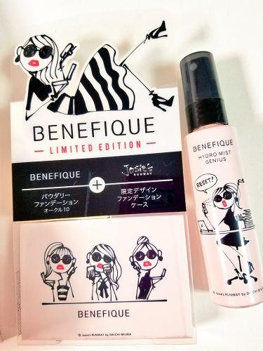 ハイドロミストジーニアス/BENEFIQUE/ミスト状化粧水を使ったクチコミ(1枚目)
