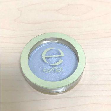 シャイニーシャドウ N/excel/パウダーアイシャドウを使ったクチコミ(2枚目)