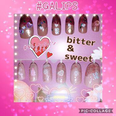 【画像付きクチコミ】#agm#GALIPS#ギャレンタインネイル♡·❤︎·♡·❤︎·♡·❤︎·♡·❤︎·♡·❤︎·♡·❤︎·♡·❤︎·♡こんにちは(*´∀`*)久しぶりの#GALIPS参加です!!今回のネイル...