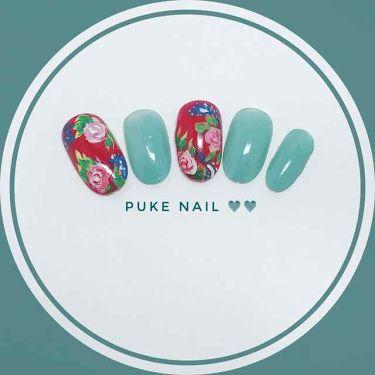子供頃の色☆懐かしいネイルチップ/PUKE NAIL/つけ爪・ネイルチップを使ったクチコミ(1枚目)