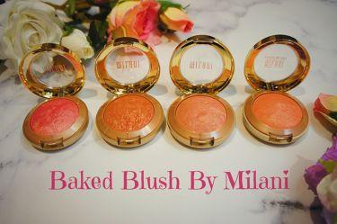 BAKED POWDER BLUSH/Milani Cosmetics /パウダーチークを使ったクチコミ(1枚目)