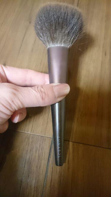 アイシャドウブラシ(M)N/LUNASOL/メイクブラシを使ったクチコミ(3枚目)