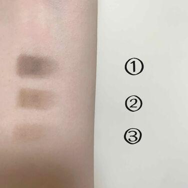 UR GLAM EYEBROW POWDER/DAISO/パウダーアイブロウを使ったクチコミ(2枚目)
