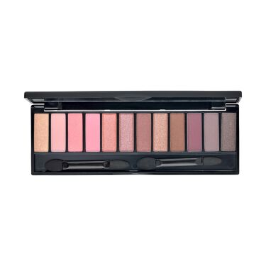 UR GLAM LUXE 12 COLORS EYESHADOW PALLET 02