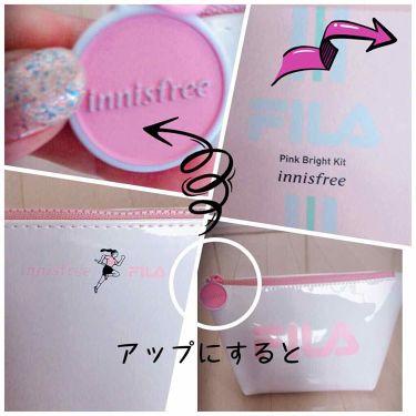 innisfree ×FILA pink bright kit/innisfree/スキンケアキットを使ったクチコミ(2枚目)