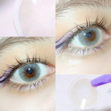アメリグレー (Amelie Gray)/OLOLA/カラーコンタクトレンズを使ったクチコミ(2枚目)