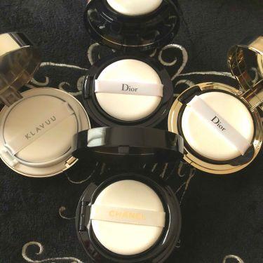 ディオールスキン フォーエヴァー クッション リミテッド エディション/Dior/その他ファンデーションを使ったクチコミ(2枚目)