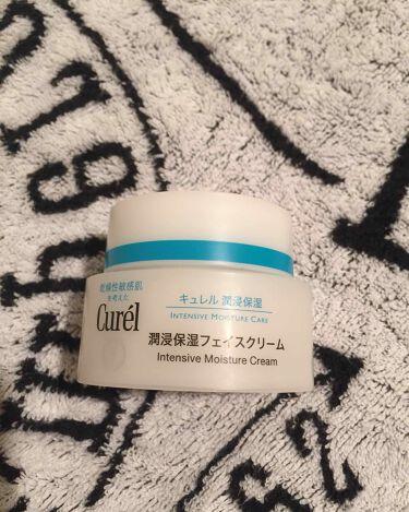 敏感肌+乾燥性脂性肌さんの「キュレル潤浸保湿フェイスクリーム<フェイスクリーム>」を含むクチコミ