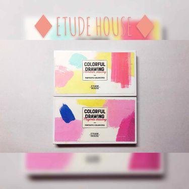 ファンタスティックカラーアイズ #ヴァーミリオンドローイング/ETUDE HOUSE/パウダーアイシャドウを使ったクチコミ(1枚目)