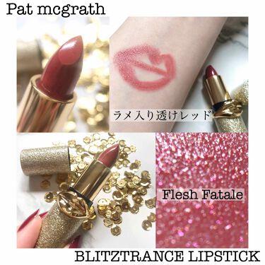 BLITZTRANCE LIPSTICK/PAT McGRATH LABS/口紅を使ったクチコミ(1枚目)